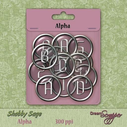 Shabby Sage Alpha