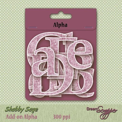 Shabby Sage Add-on Alpha