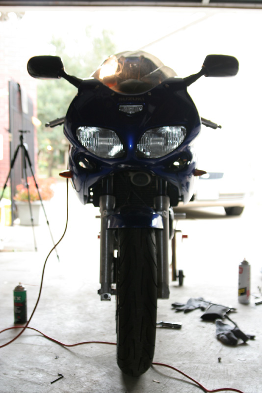 Worked on the bike, took some pics.