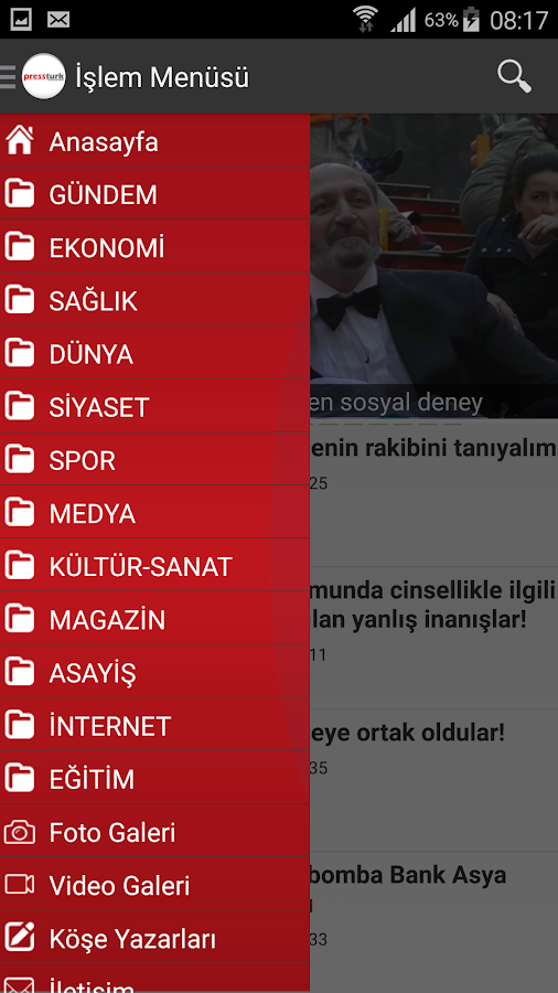Press Türk- screenshot