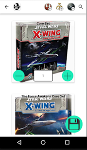 X-Wing Squadron Builder- screenshot thumbnail