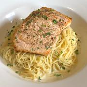 Salmon Pasta Feature