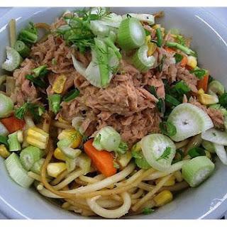 Grilled Pasta Salad