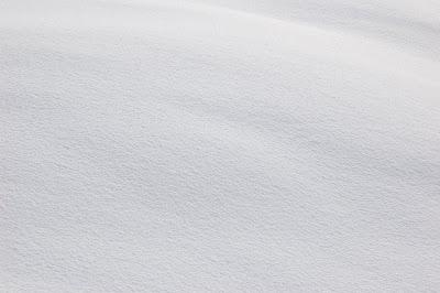Pure, pristine white snow.