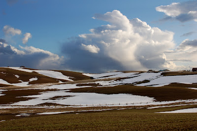 Clouds over the Palouse (in Idaho)
