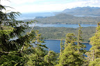 View from Deer Mountain, near Ketchikan, Alaska.