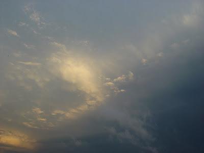 Brooding sky in Texas.