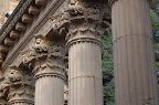 Column Detail. Palace of Fine Arts, San Francisco CA. Photo by Lisa Callagher Onizuka