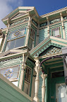 Ornate Victorian. San Francisco CA. Photo by Lisa Callagher Onizuka