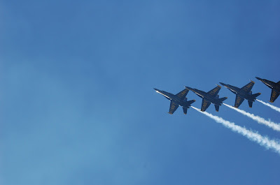 Blue Angels - US Navy Fighter Jets - Fleet Week Airshow in San Francisco. Photo by Lisa Callagher Onizuka