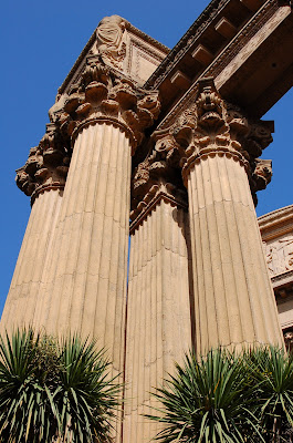 Very blue sky above Palace of Fine Arts, San Francisco CA. Photo by Raymond Chambers