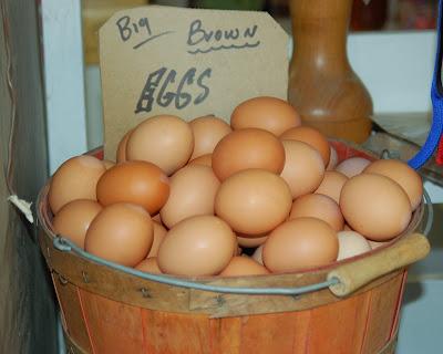 Big Brown Eggs.