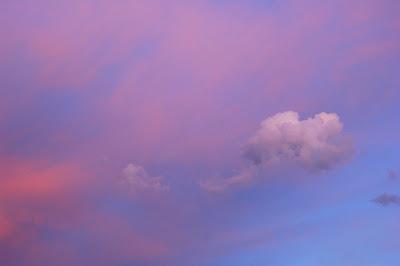 Heart breakingly lovely sunset sky.