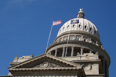 Boise, Idaho Capitol Building.