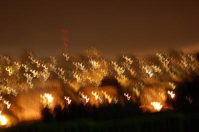 San Francisco skyline at Night.