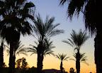 Palm Springs sky.