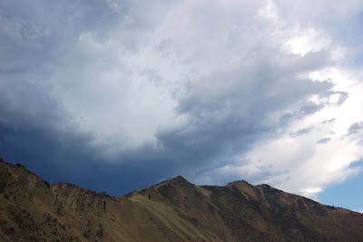 Storm coming. Shorts Bar, near Riggins, ID.