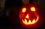 Smiley Jack-o-lantern.