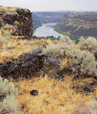 Snake River - overlook near Twin Falls, ID - Photo by Lisa Callagher Onizuka