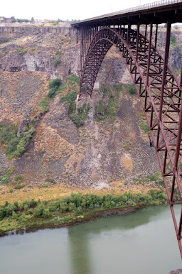 Bridge into Twin Falls, ID.