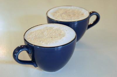 Deeelicious cappuccinos.
