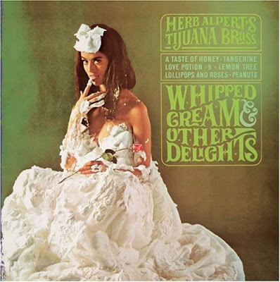 Herb Alpert Record Jacket - Whipped Cream & Other Delights