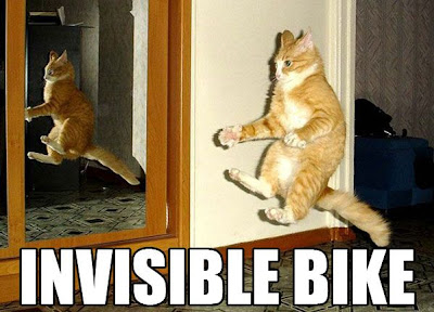 INVISIBLE BIKE - LOLcats from IcanHasCheezburger.com