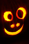 Happy Halloween! Jack-o-lantern carved by Molly Callagher.