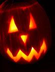 Happy Halloween! Jack-o-lantern carved by Seiji Onizuka.