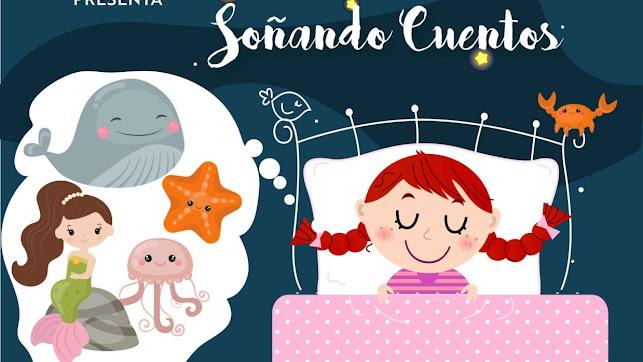 Cartel de Soñando Cuentos de Axioma Teatro.