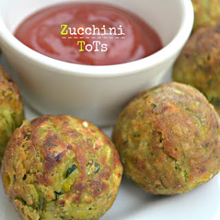 Zucchini Tots ( Made in Appe Pan).