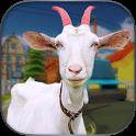 Angry Goat Rampage Craze Simulator - Wild Animal icon