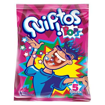 Dulce en Polvo Quipitos   Bolsa 5 Und X48g