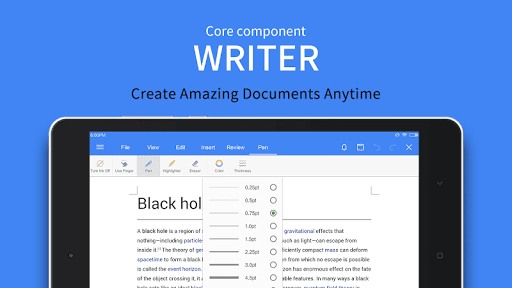 WPS Office - Word, Docs, PDF, Note, Slide & Sheet  screenshots 12