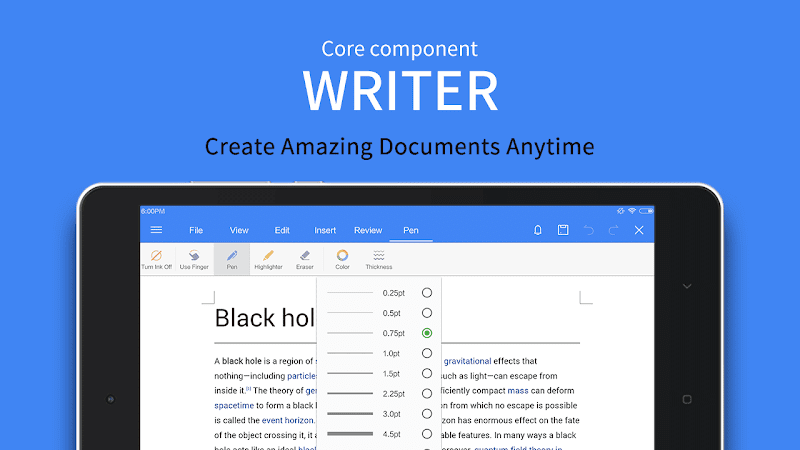 WPS Office - Word, Docs, PDF, Note, Slide & Sheet Screenshot 11