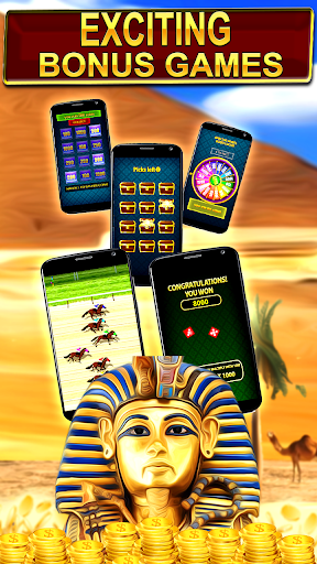 Slot Machine : Pharaoh Slots 3.3 screenshots 2