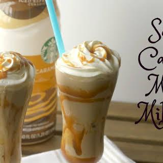 Salted Caramel Mocha Milkshake.