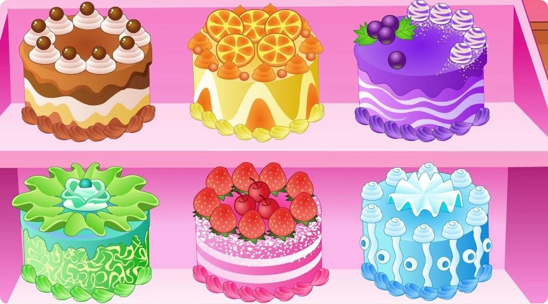 Cake Cooking Challenge Games Android App Screenshot