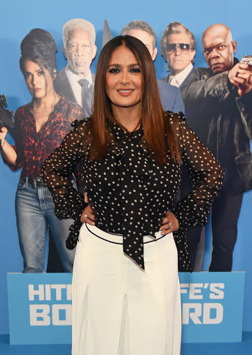 Salma Hayek and Jess Impiazzi lead the glam at Hitman's Wife's Bodyguard screening in London