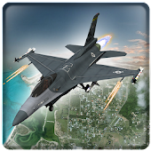 Real Jet Fighter War Dogfight Gunship Battle 3D