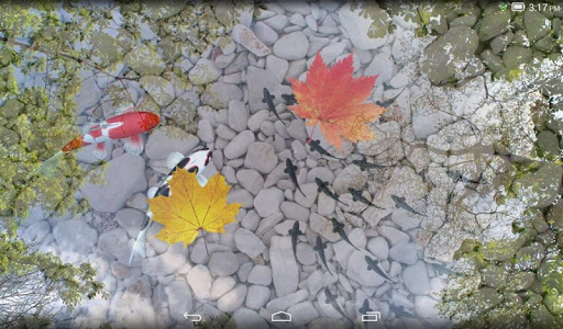 Water Garden Live Wallpaper  screenshots 9