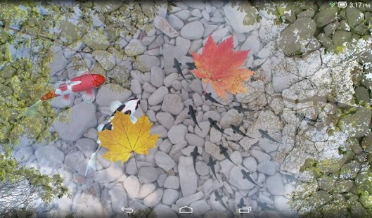 Water Garden Live Wallpaper- screenshot thumbnail
