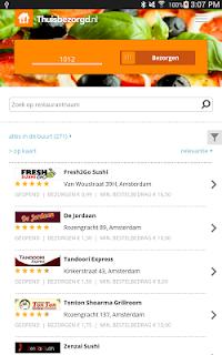Thuisbezorgd.nl - Order food screenshot 08