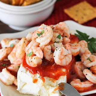 Super Easy Shrimp & Cream Cheese Appetizer Recipe