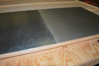 Photo: Sing Core's Aluminum Clad Honeycomb panel in bright or matte finish