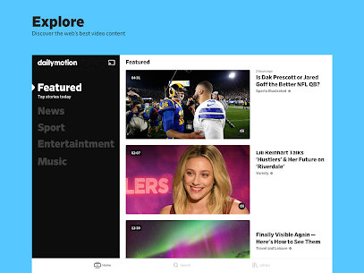 Dailymotion – the home for videos that matter 5