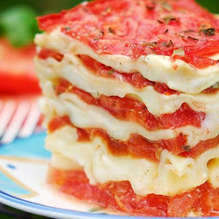 Totally Fresh Tomato Lasagna