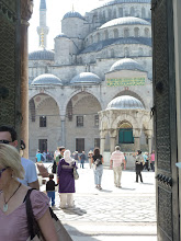 Photo: Just outside of the Blue Mosque