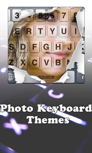 写真キーボードのテーマ