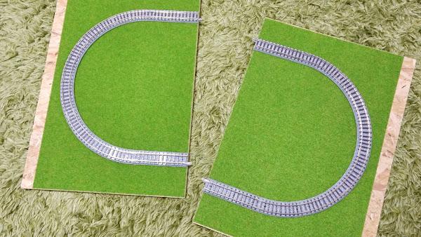 ポキオ 鉄道模型 ジオラマ 百均